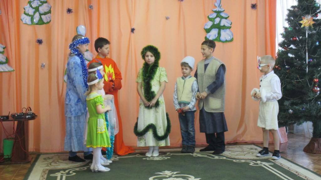 Встреча воспитанников и  учащихся Воскресной школы