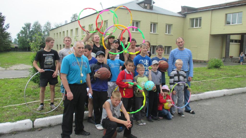 Спортивный праздник ко Дню защиты детей